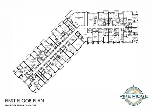 pike ridge senior commons, first floor layout, affordable senior apartments kenosha
