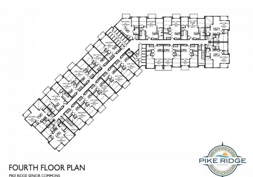 pike ridge senior commons, fourth floor layout, affordable senior apartments kenosha