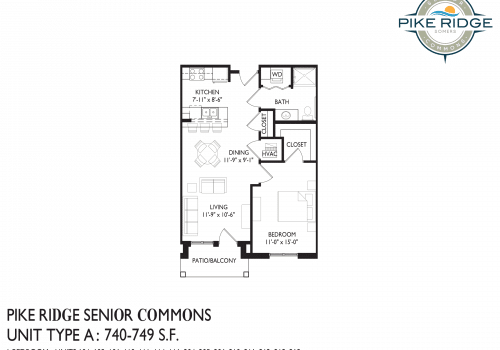 pike ridge in somers, rent two bedroom in somers, senior apartments