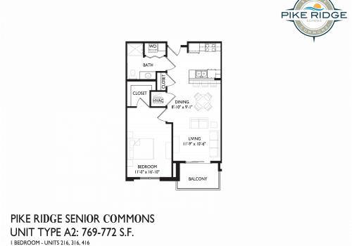 pike ridge apartments, somers two bedroom, seniors room apartments