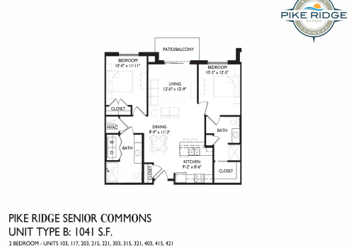 pike ridge senior commons, 2 bedroom senior apartments kenosha, kenosha senior apartments
