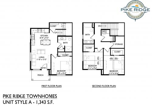 pike ridge town homes, 3 bedroom townhomes, affordable apartments kenosha