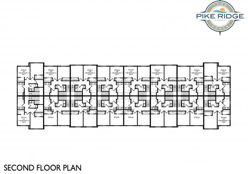 pike ridge town homes, second floor plan, affordable apartments kenosha